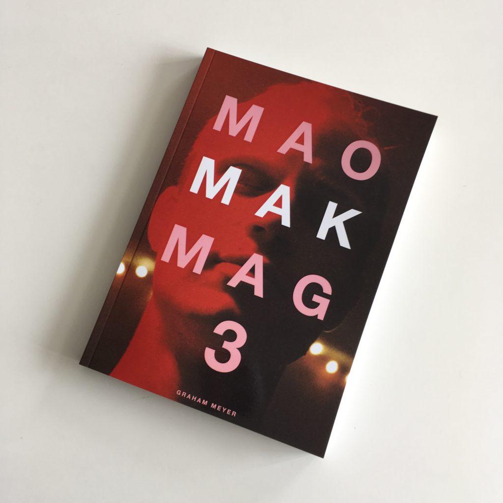 Mao Mak Mag Zine Cover